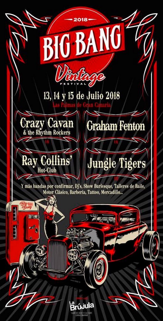 """BIG BANG VINTAGE FESTIVAL"" GRAN CANARIA JULY 2018"