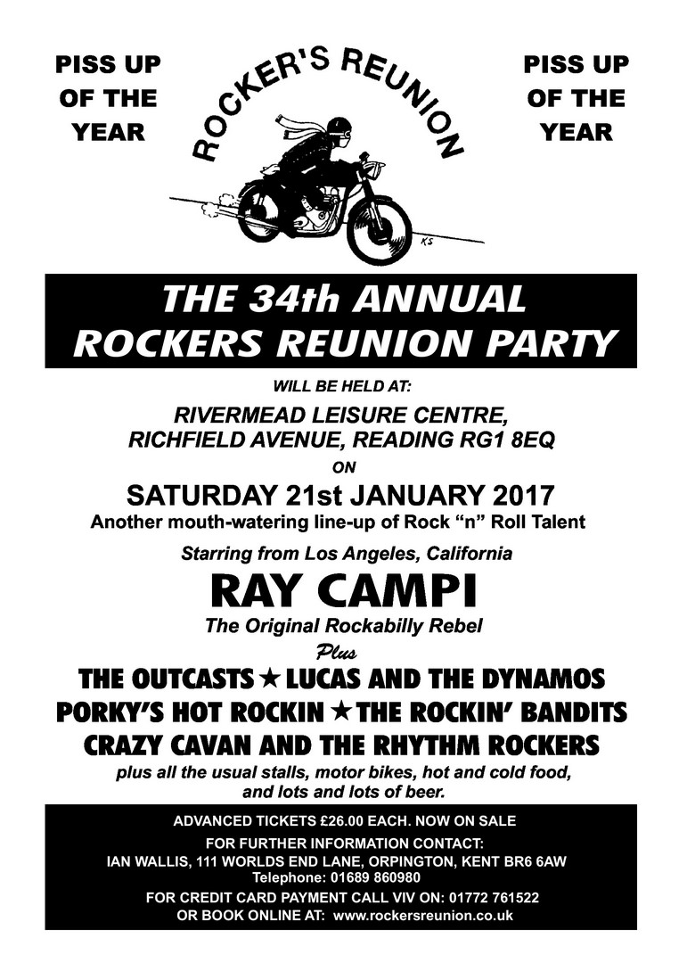 ROCKERS REUNION  2017 FLYER